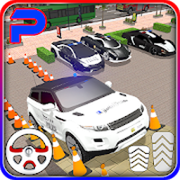Suv police car parking: advance parking game 2018 Simgesi