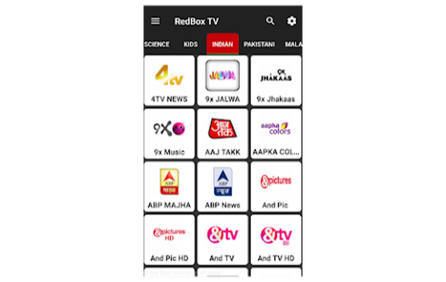 RedBox Tv original Android - Free Download RedBox Tv