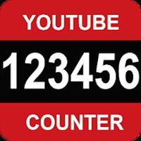Icône apk Youtube, compteur de vues, et d'abonnés