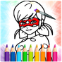 Ladybug Coloring Book for kids 2.0