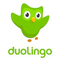 Ícone do Duolingo: Inglês e Espanhol