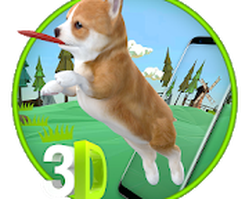 3D Cute Puppies & Dog Animated Live