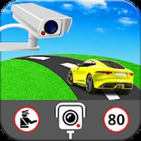 Icône de GPS vitesse appareil photo détecteur gratuit app