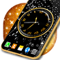 Black HD Clocks Live Wallpaper 4.15.1