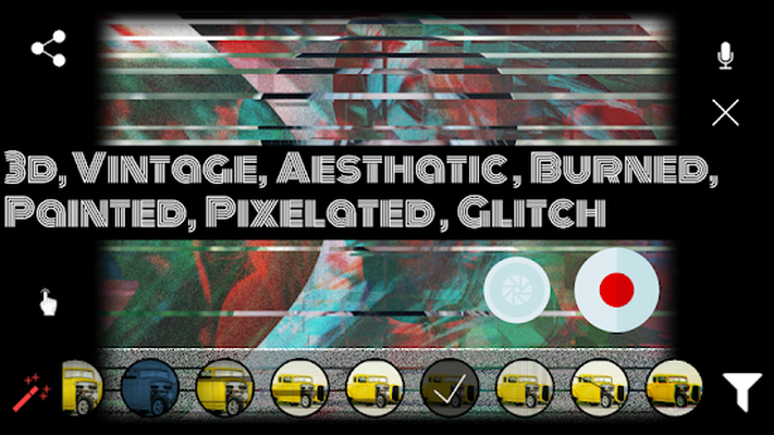 Glitchr - Glitch Video Effects & 70s VHS Camcorder Android - Free