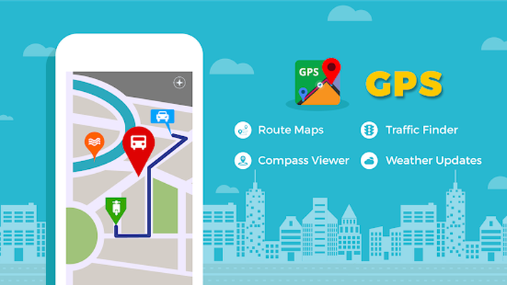 GPS, Maps, Navigate, Traffic & Area Calculating Android - Free