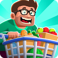 Idle Supermarket Tycoon - Tiny Shop Game Simgesi