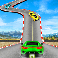 Crazy Car Impossible Track Racing Simulator icon