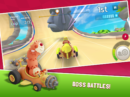 Starlit On Wheels: Super Kart Android - Free Download
