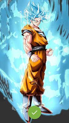 Dbz Super Goku Anime Wallpaper Security Lock 10 Android