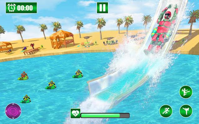 Robot Water Slide Android - Free Download Robot Water Slide App