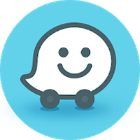 Icono de Waze Social GPS Maps & Traffic