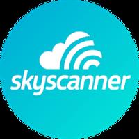 Ícone do Skyscanner - Passagens Aéreas!