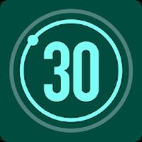 30日間フィットネスチャレンジ アイコン