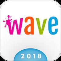 Wave Animated Keyboard + Emoji Simgesi