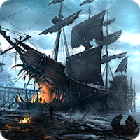 Korsanlar savaş çağı gemileri Simgesi