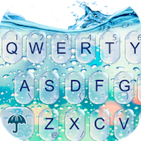 Glass Water Keyboard Theme icon