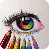 Ícone do Livro para colorir para adultos