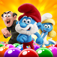 Ícone do Smurfs Bubble Story
