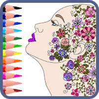 Ícone do Mandala coloring book for adults