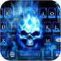Flaming Skull Kika Keyboard 57.0