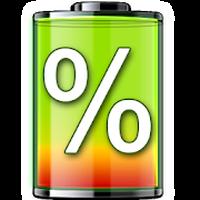 tonen percentage batterij icon