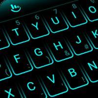 Ícone do apk Tema gratuito Neon Blue