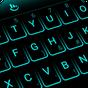 Neon Blue Keyboard Theme 6.7.16.2019