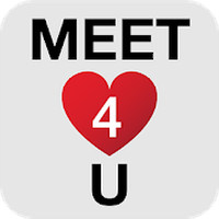 Icône de Meet4U - Chat, Love, Singles!