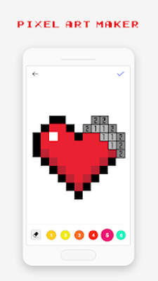Pixel Art Pixel Para Colorear 1615 Android Descargar