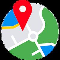 Ícone do localização Mapa Rastreador