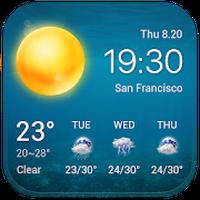 Icône de météo gratuite à 7 14 15 jours