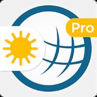 Ícone do Tempo & Radar Pro