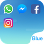 Dual Space - O Fresh Blue tema 2.0.4