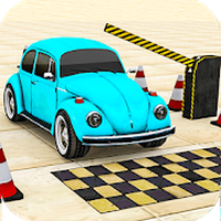 Classic Car Parking Real Driving Test icon