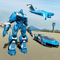 Biểu tượng Cảnh sát Robot Xe Game - Vận chuyển máy bay