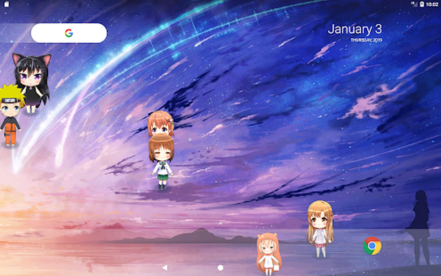 Lively Anime Live Wallpaper Image