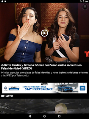 Telemundo Novelas Android - Free Download Telemundo Novelas