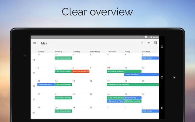 One Calendar Android - Free Download One Calendar App - Code Spark