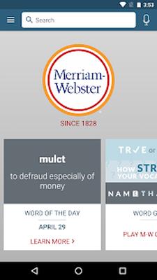 Dictionary - M-W Premium 3 1 4 Android - Tải