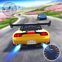 Real Road Racing-Highway Speed Car Chasing Game icon