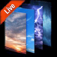 Wetter Live Hintergrund Icon