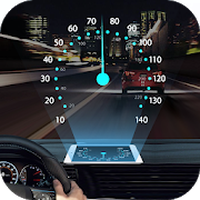 Speedometer: Car Heads Up Display GPS Odometer App icon