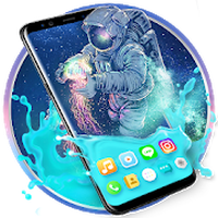 Gravity Astronaut Themes HD Wallpapers 3D icons icon