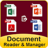 Ícone do leitor de documentos: ebooks reader & pdf reader