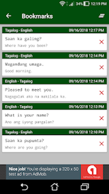 Tagalog - English Translator Android - Free Download Tagalog