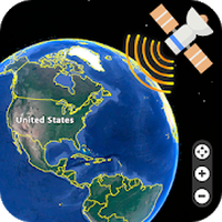 Live Earth Map 2019 - Satellite View, Street View icon