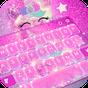 Pink Unicorn Keyboard Theme 6.4.27.2019