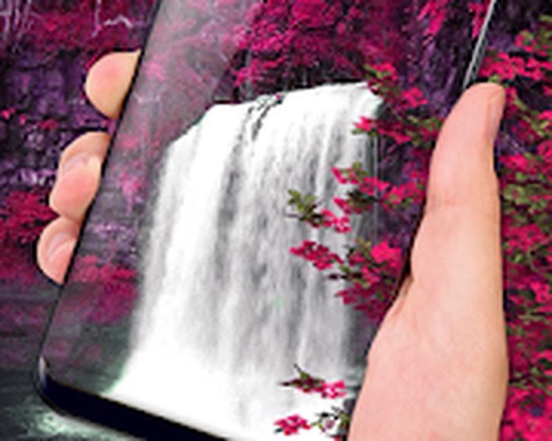 Waterfall Flower live Wallpaper 2018