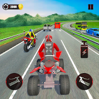 ATV Traffic Rider 2019: Quad Bike & Kart icon